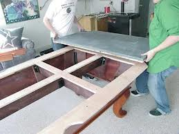 Pool table moves in Muskegon Michigan